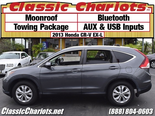 Used Hondas For Sale Near Me >> Used SUV Near Me - 2013 Honda CR-V EX-L with Bluetooth ...