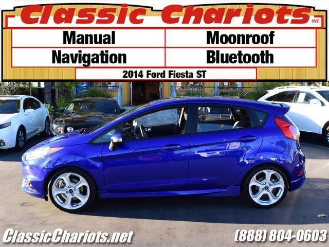 sold**used car near me - 2014 ford fiesta st with moonroof