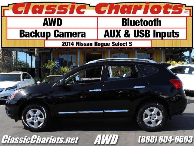 sold used suv near me 2014 nissan rogue select s with bluetooth awd and backup camera for. Black Bedroom Furniture Sets. Home Design Ideas