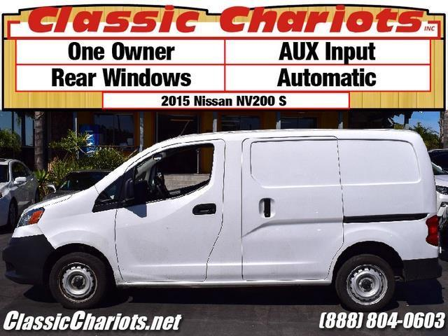 sold used cargo van near me 2015 nissan nv200 s with. Black Bedroom Furniture Sets. Home Design Ideas