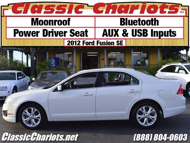 used car near me 2012 ford fusion se with moonroof bluetooth and power driver seat for sale. Black Bedroom Furniture Sets. Home Design Ideas