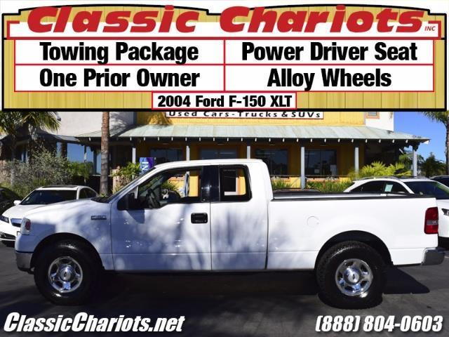 used truck near me 2004 ford f 150 xlt with towing package one prior owner and power driver. Black Bedroom Furniture Sets. Home Design Ideas