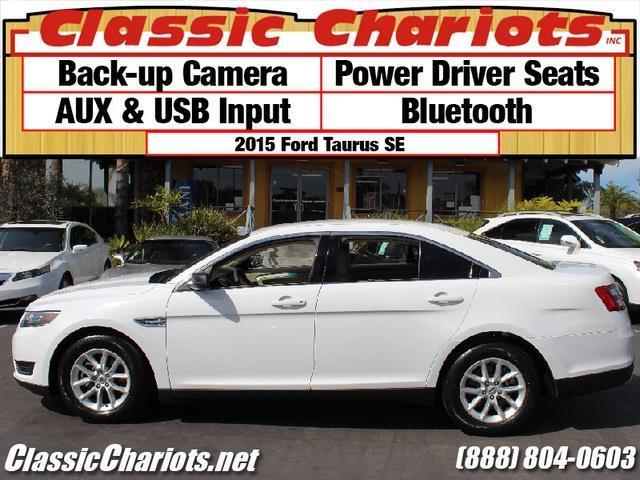 sold used car near me 2015 ford taurus se with backup camera power driver seats and. Black Bedroom Furniture Sets. Home Design Ideas