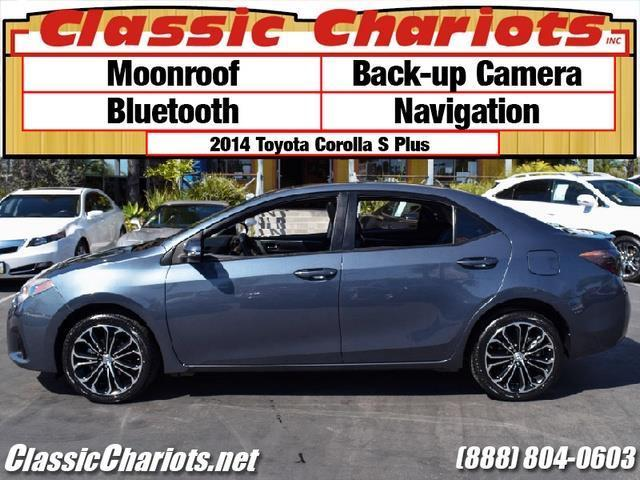 sold used car near me 2014 toyota corolla s w navigation with moonroof bluetooth backup. Black Bedroom Furniture Sets. Home Design Ideas