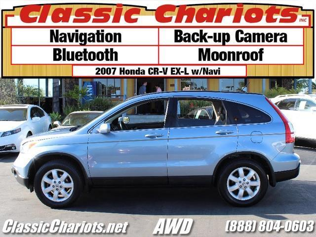 sold used suv near me 2007 honda cr v ex l w navi with navigation back up camera and. Black Bedroom Furniture Sets. Home Design Ideas