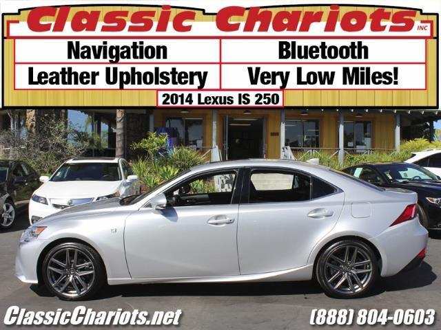 used car near me 2014 lexus is 250 with navigation leather bluetooth and very low miles for. Black Bedroom Furniture Sets. Home Design Ideas