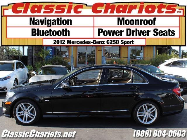 Used car near me 2012 mercedes benz c class c250 sport for Mercedes benz for sale near me