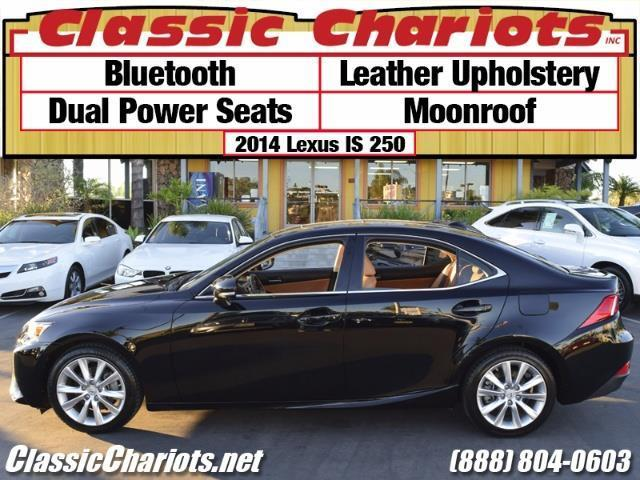 sold used car near me 2014 lexus is 250 with bluetooth leather upholstery and moonroof. Black Bedroom Furniture Sets. Home Design Ideas