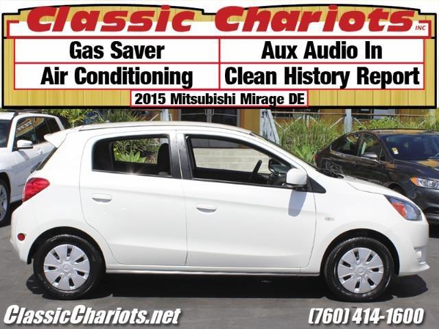 Used Car Near Me 2015 Mitsubishi Mirage De With Ac Clean History