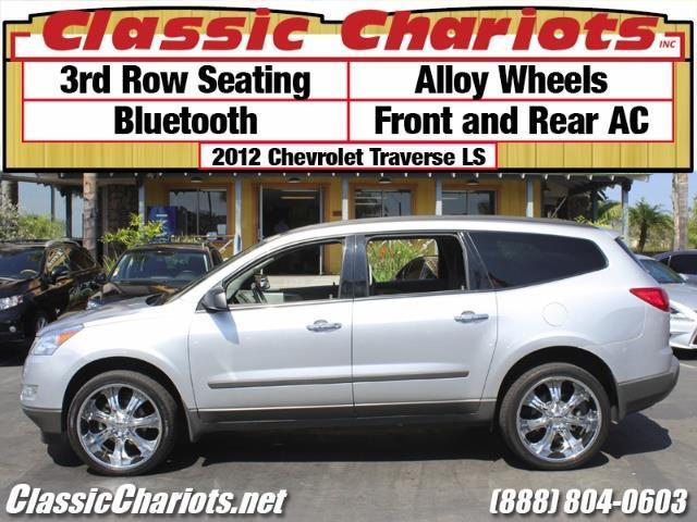 sold used suv near me 2012 chevrolet traverse ls with 3rd row seating alloy wheels and. Black Bedroom Furniture Sets. Home Design Ideas
