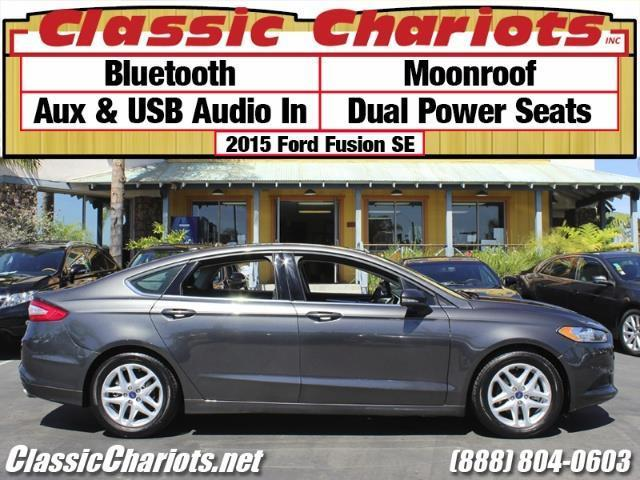 used car near me 2015 ford fusion se with bluetooth moonroof and usb input for sale in. Black Bedroom Furniture Sets. Home Design Ideas