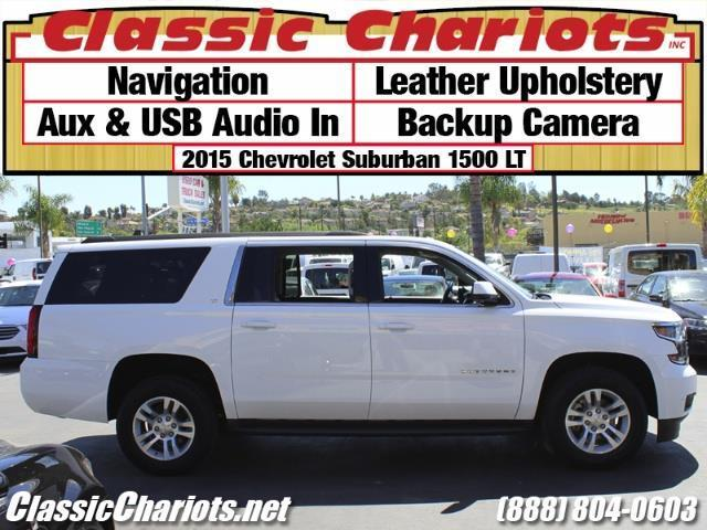 used used family vehicle near me 2015 chevrolet suburban 1500 lt with navigation leather. Black Bedroom Furniture Sets. Home Design Ideas