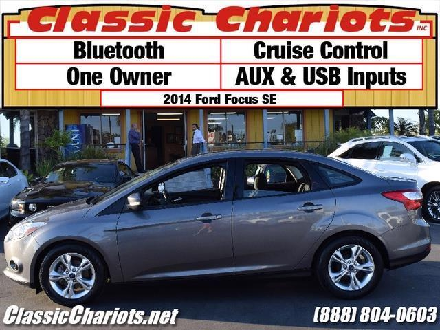sold used car near me 2014 ford focus se with bluetooth one owner and usb inputs for sale. Black Bedroom Furniture Sets. Home Design Ideas