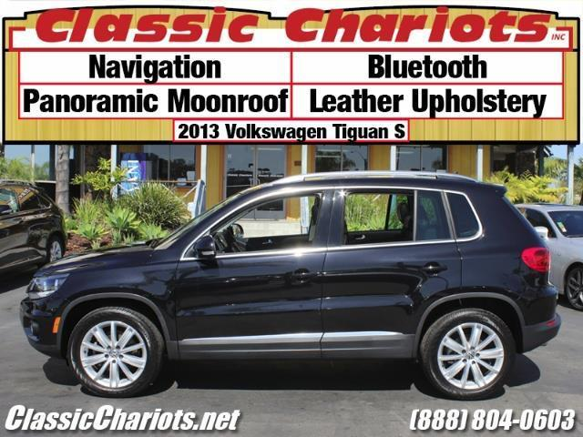 used suv near me 2013 volkswagen tiguan s with navigation bluetooth and panoramic moonroof. Black Bedroom Furniture Sets. Home Design Ideas