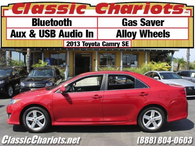 sold used car near me 2013 toyota camry se with bluetooth gas saver and usb input for. Black Bedroom Furniture Sets. Home Design Ideas
