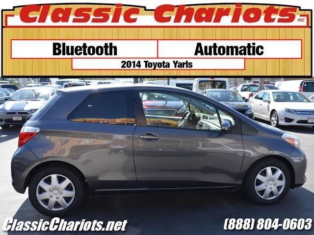 used car near me 2014 toyota yaris 3 door l with bluetooth and automatic for sale in san. Black Bedroom Furniture Sets. Home Design Ideas