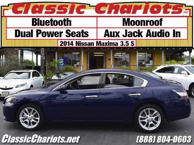 used car near me 2014 nissan maxima 3 5 s with bluetooth moonroof and dual power seats for. Black Bedroom Furniture Sets. Home Design Ideas
