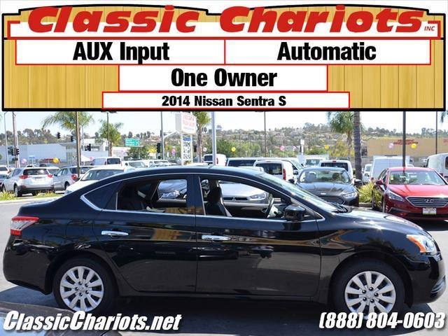 SOLD Used Car Near Me 2014 Nissan Sentra S with AUX
