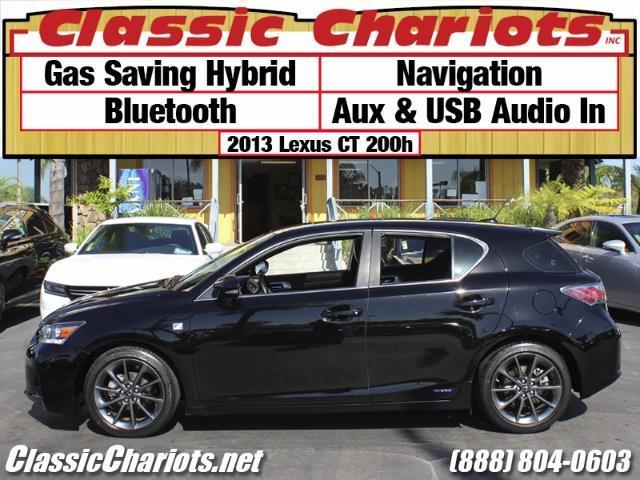 used car near me 2013 lexus ct 200h with navigation bluetooth usb input for sale in san. Black Bedroom Furniture Sets. Home Design Ideas
