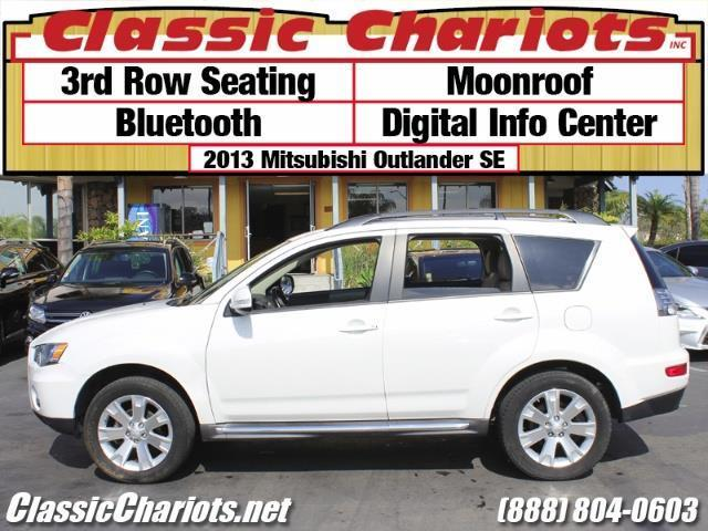 Used Suv Near Me 2013 Mitsubishi Outlander Se With 3rd