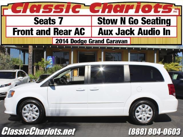 sold used van near me 2014 dodge grand caravan se with 7 seater stow and go and aux input. Black Bedroom Furniture Sets. Home Design Ideas