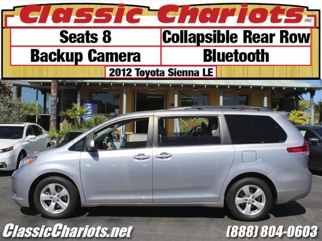 sold used family vehicle near me 2012 toyota sienna le 8 passenger with 8 seats collapsible. Black Bedroom Furniture Sets. Home Design Ideas