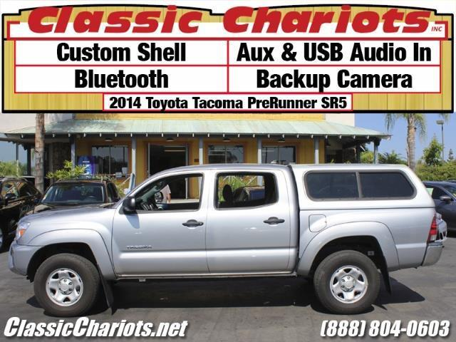 used truck near me 2014 toyota tacoma prerunner v6 sr5 with bluetooth usb input and custom. Black Bedroom Furniture Sets. Home Design Ideas