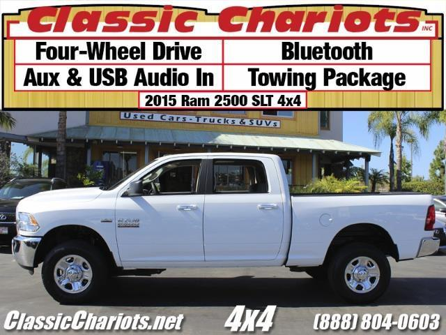 used truck near me 2015 ram 2500 slt 4x4 with bluetooth aux usb and 4 wd for sale in. Black Bedroom Furniture Sets. Home Design Ideas