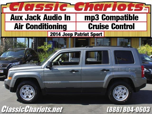 used suv near me 2014 jeep patriot sport with aux ac and cruise control for sale in. Black Bedroom Furniture Sets. Home Design Ideas
