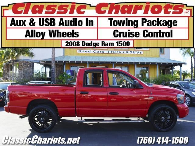 sold used truck near me 2008 dodge ram 1500 with usb input towing package and alloy. Black Bedroom Furniture Sets. Home Design Ideas