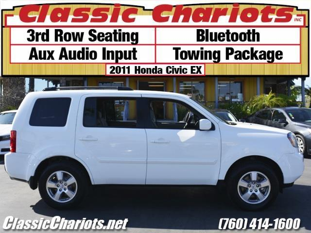 sold used family vehicle near me 2011 honda pilot ex with bluetooth towing package and. Black Bedroom Furniture Sets. Home Design Ideas