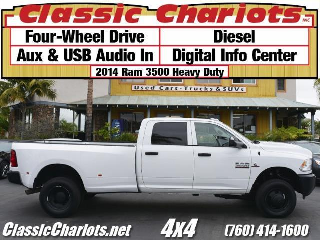 Used Truck Near Me 2014 Ram 3500 4x4 Diesel Dually With