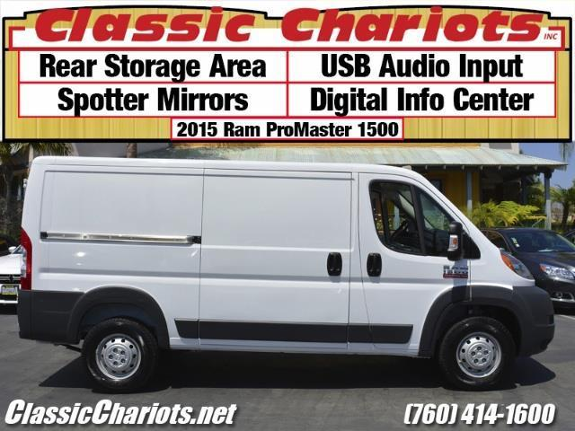 sold used commercial vehicle near me 2015 ram promaster 1500 cargo van with rear storage. Black Bedroom Furniture Sets. Home Design Ideas