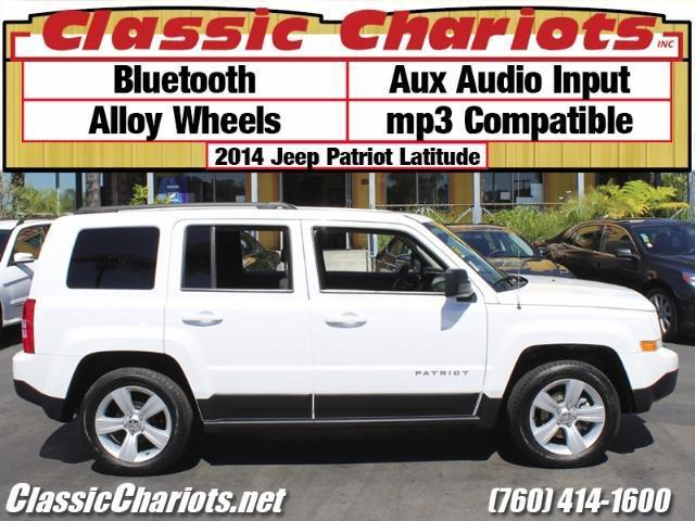 sold used suv near me 2014 jeep patriot latitude with bluetooth aux and alloy wheels for. Black Bedroom Furniture Sets. Home Design Ideas
