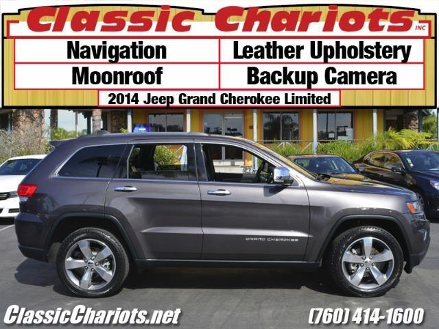 sold used suv near me 2014 jeep grand cherokee limited with navigation moonroof and. Black Bedroom Furniture Sets. Home Design Ideas