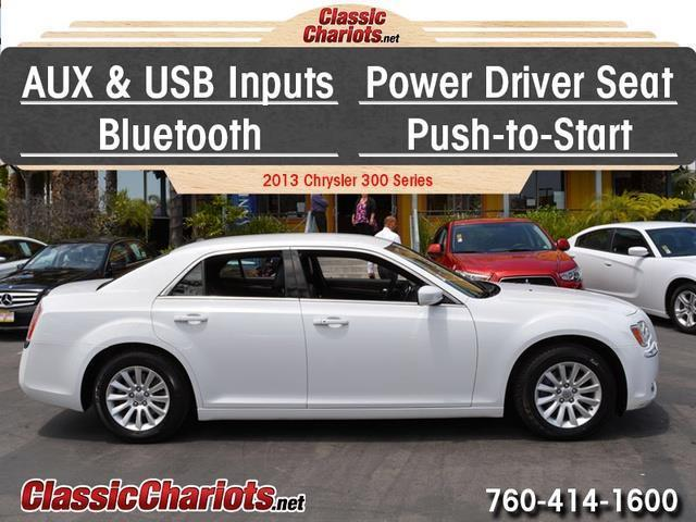 sold used car near me 2013 chrysler 300 series with usb input push to start and bluetooth. Black Bedroom Furniture Sets. Home Design Ideas