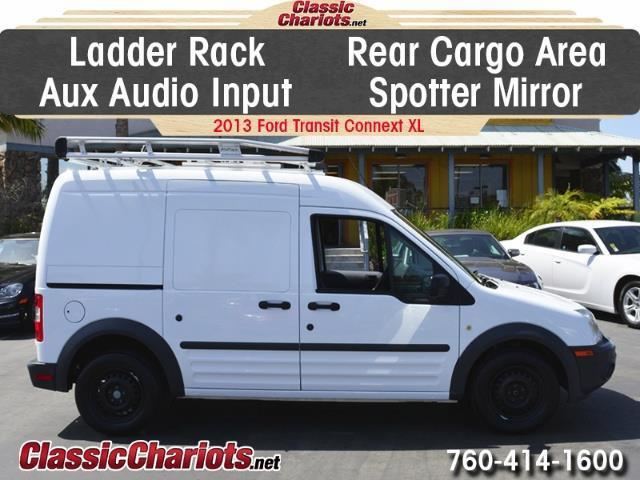 sold used commercial vehicle near me 2013 ford transit connect cargo van xl with ladder. Black Bedroom Furniture Sets. Home Design Ideas