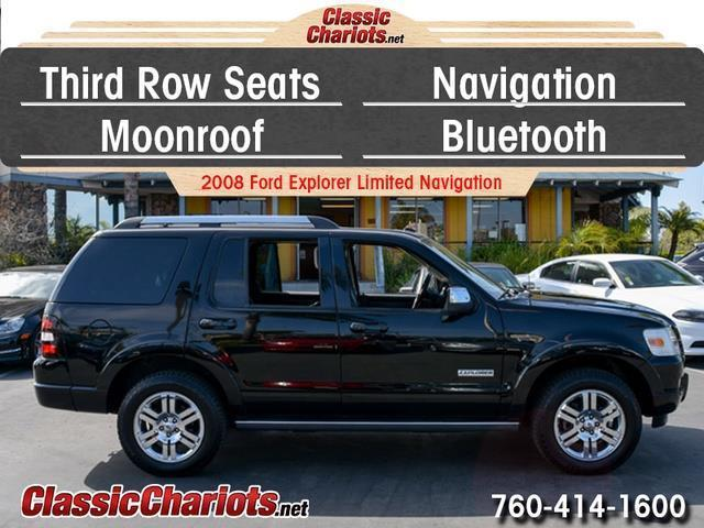sold used suv near me 2008 ford explorer limited navigation with 3rd row seat navigation. Black Bedroom Furniture Sets. Home Design Ideas