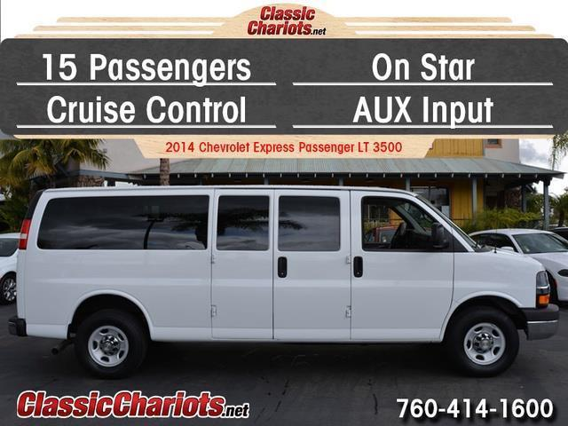 sold used passenger van near me 2014 chevrolet express passenger lt 3500 with 15 passenger. Black Bedroom Furniture Sets. Home Design Ideas