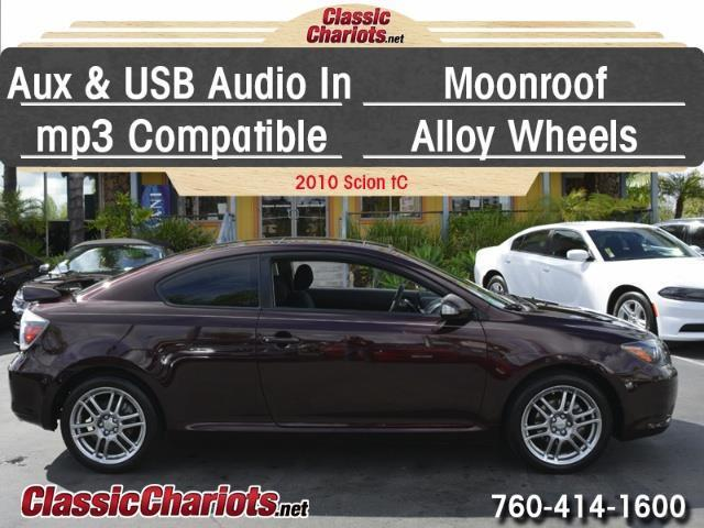 sold used car near me 2010 scion tc with usb input moonroof and alloy wheels for sale in. Black Bedroom Furniture Sets. Home Design Ideas