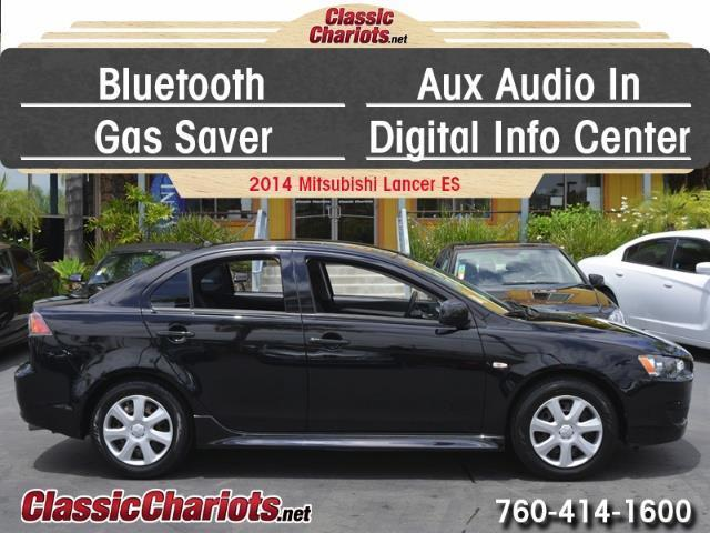 sold used car near me 2014 mitsubishi lancer es with bluetooth aux input and gas saver. Black Bedroom Furniture Sets. Home Design Ideas