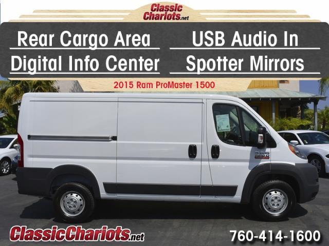 sold used commercial vehicle near me 2015 ram promaster 1500 cargo van with rear cargo area. Black Bedroom Furniture Sets. Home Design Ideas