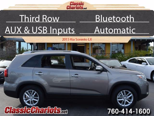 used suv near me 2015 kia sorento lx with 3rd row bluetooth and usb input for sale in. Black Bedroom Furniture Sets. Home Design Ideas