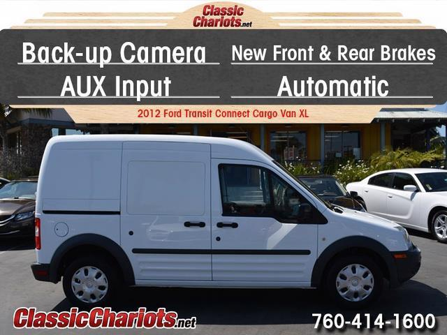 sold used commercial vehicle near me 2012 ford transit connect cargo van xl with back up. Black Bedroom Furniture Sets. Home Design Ideas