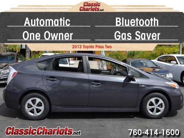 sold used car near me 2013 toyota prius two with bluetooth automatic and one owner for. Black Bedroom Furniture Sets. Home Design Ideas
