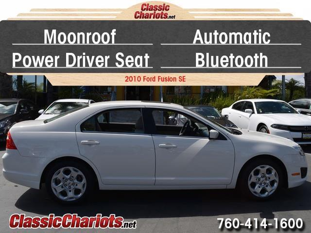 used car near me 2010 ford fusion se with moonroof automatic and power driver seat for sale. Black Bedroom Furniture Sets. Home Design Ideas