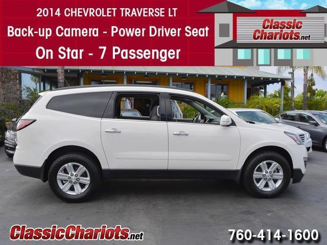 sold used suv near me 2014 chevrolet traverse lt with back up camera on star and 7. Black Bedroom Furniture Sets. Home Design Ideas