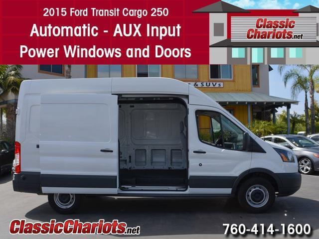 Used commercial vehicle near me 2015 ford transit 250 for Windows and doors near me