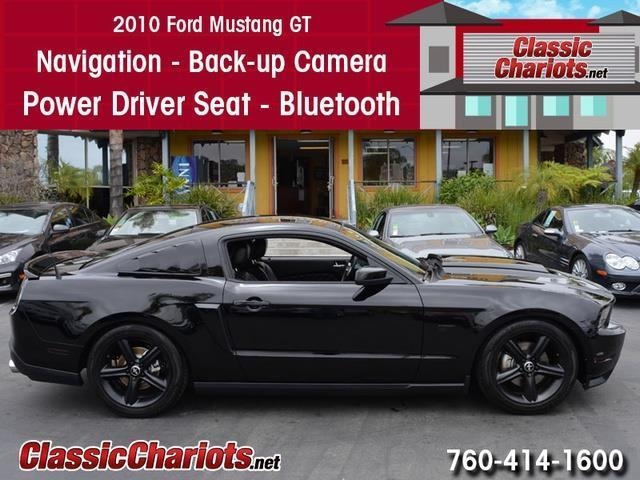sold**used car near me - 2010 ford mustang gt with navigation, back