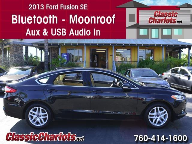 sold used car near me 2013 ford fusion se with bluetooth moonroof and usb input for sale. Black Bedroom Furniture Sets. Home Design Ideas